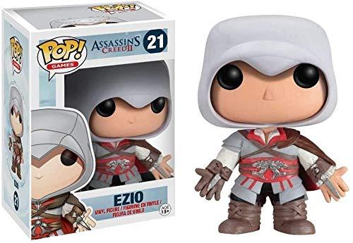 A- Generic Funko Assassins Creed 2 Figura # 21 ¡Ezio Pop! Multicolor