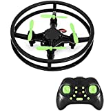 RC Mini Drone Quadcopter, 2.4GHz 4-Axis Upgraded Nano Pocket Quad Copter, Super Durable Remote Control Micro Helicopter Kit for Kid & Beginner, 360 Degree Stunt Flip Flying & Racing
