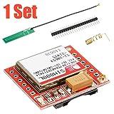Seazoon Smallest SIM800L GPRS GSM Phone Module Card Board Quad-Band Onboard+Antenna CE Oc128