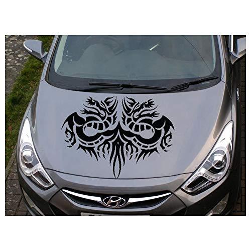 Tribal Drachen Auto Motorhaube Aufkleber, Tribal Drachen Auto Motorhaube Aufkleber Tribal Drachen Auto-Tuning.