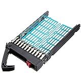 BrainyDeal 2.5' 378343-002 HP Compaq Proliant BL20p G4, BL25p G2, BL45p G2, BL460c, BL465c, BL480c, BL685c, DL360 G4p, DL360 G5, DL365, DL380 G4, DL380 G5, DL385 G2, DL580 G3, DL580 G4 SAS SATA Hard Drive Tray Caddy Replacement (Xeon E5540 2.53 GHz, RAM 6GB)