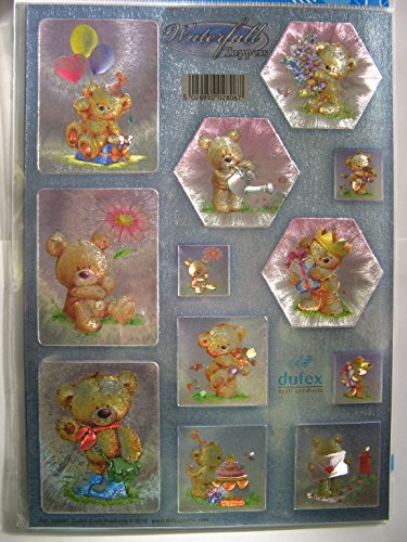 Paintbox Poppets No Die Cut 3D Decoupage Dufex 5