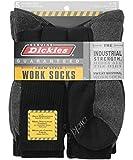 Best Dickies Socks - Dickies Genuine Mens 5-Pair Crew Work Socks, 5 Review