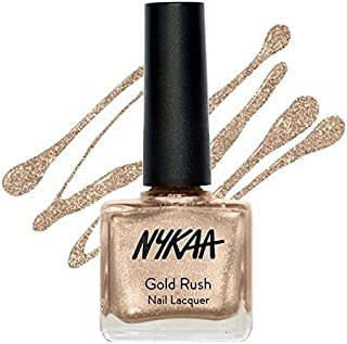 Nykaa Gold Rush Nail Lacquer Gold Soul 121