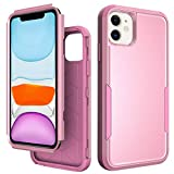OBOVO Protective case for iPhone (Pink, for iPhone 12/12 Pro)