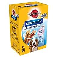 Pedigree DentaStix - Daily Dental Chews for Medium Dogs (10-25 kg), 112 sticks - 4 x 720 g