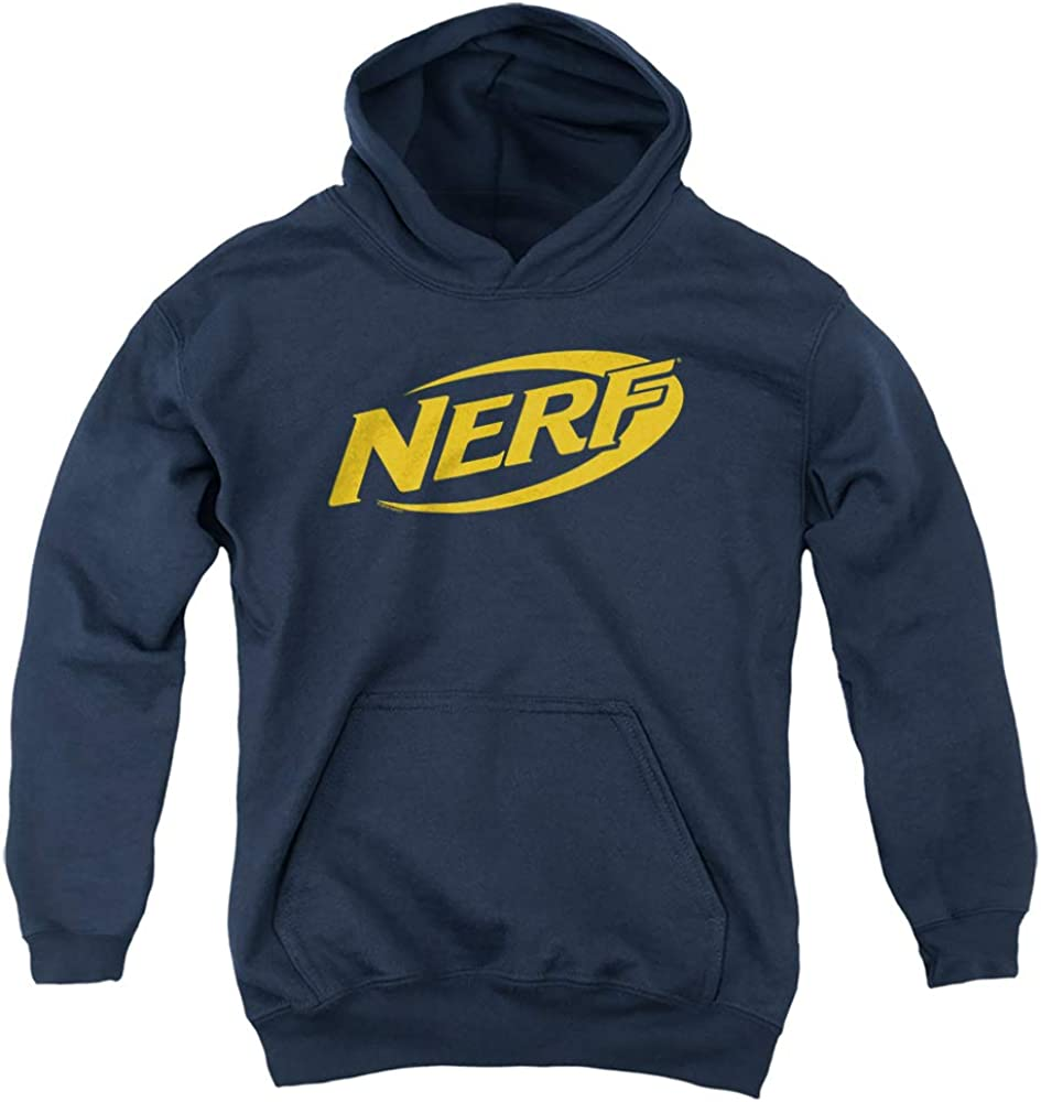 New York Mall Nerf Logo Unisex Sales for sale Hoodie Youth Pull-Over