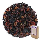N° 1186: Tè alla frutta in foglie 'Maroon (Rosso Cupo)' - 250 g - GAIWAN® GERMANY - tè in foglie, biancospino, ibisco, acini d'uva, sambuco, rosa canina