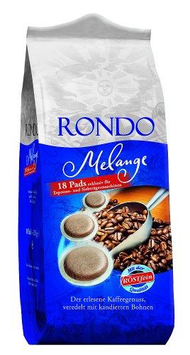 Röstfein Rondo Melange 18 Pads, 5er Pack (5 x 125 g Packung)