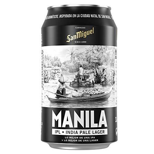 San Miguel Manila Dorada Indian Pale Lager Bier 5.8% Alkohol (Pack 24 Dosen x 33cl) bier geschenk, biere der welt, bier set, geschenk set, geschenke für männer, höhle der löwen produkte