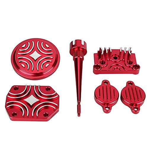 Piezas Para Disfrazar El Motor, Kit De Vestir Para Motor De Aleacin De Aluminio Antipolvo Duradero Para El Coche