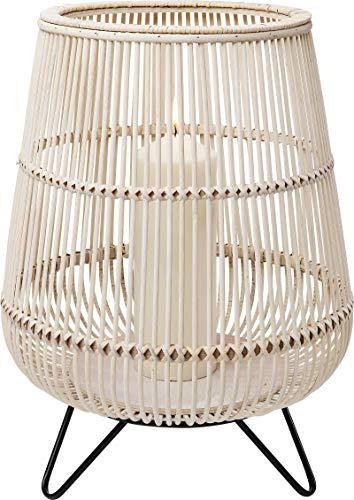 Kare Design Windlicht Bamboo Natur 47cm (H/B/T) 47 36 36