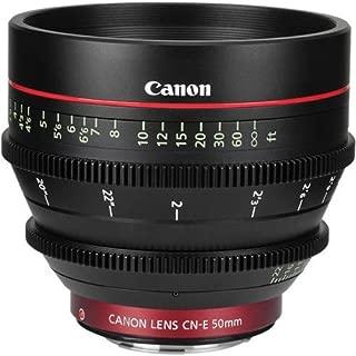 CN-E 50mm T1.3 L F Cine Lens (EF Mount)