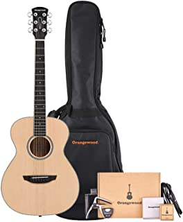 Orangewood 6 String Acoustic Guitar Pack, Right, Spruce (OW-DANA-S-AK)