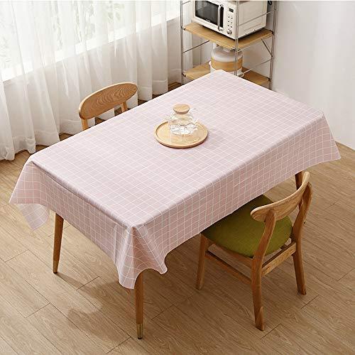 YOUYUANF tischdecke Garten tischdecke abwaschbar Haushaltstischdecke Tischdecke Tischdecke kann gewaschen Werden, wasserdicht und Antifouling-Effekt ist gut137x183cm