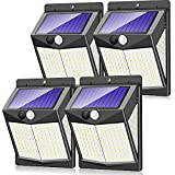 Solar Security Lights Outdoor, Claoner 140 LED...