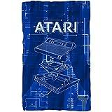 Atari Inside Out Fleece Blanket White 36X58