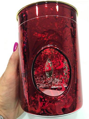 Heart & Home Lampe Parfumée Verre Rouge Renne (hiver 2017) 200 g