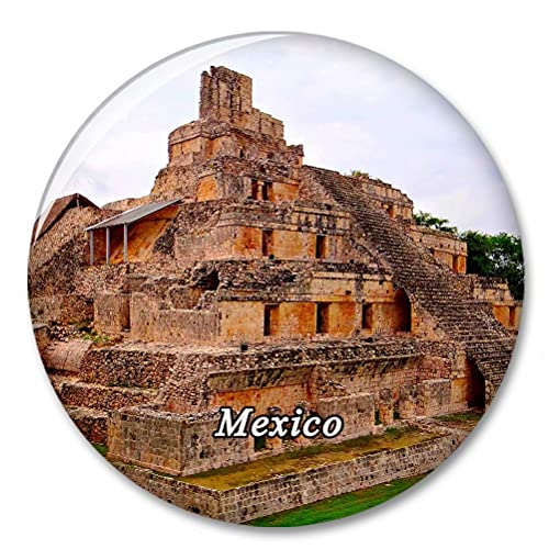 México Maya Imán de Nevera, imánes Decorativo, abridor de Botellas, Ciudad turística, Viaje, colección de Recuerdos, Regalo, Pegatina Fuerte para Nevera