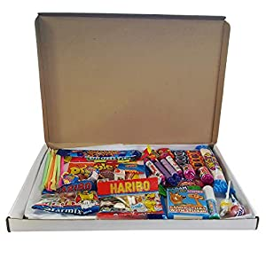 the little sweet shop retro sweet gift hamper retro for children and candy lovers (letterbox) The Little Sweet Shop Retro Sweet Gift Hamper Retro for Children and Candy Lovers (Letterbox) 51ONMcjvrkL