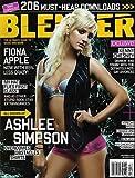 ASHLEE SIMPSON-----BLENDER MAGAZINE---DECEMBER 2005