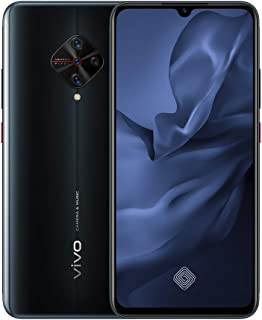 vivo 1920 S1 Pro Smart Phone, Dual SIM, 8 GB RAM, 128 GB, 4G LTE - Black