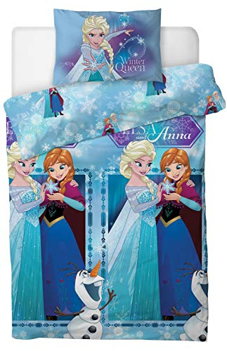 Disney Frozen 2'Winter Queen' Single Duvet Cover Set