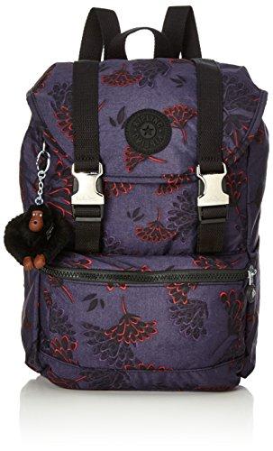 Kipling Damen Experience S Rucksack Mehrfarbig (Floral Night)