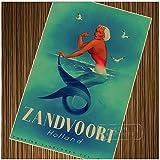 w15y8 Zandvoort Holland Meerjungfrau Niederlande