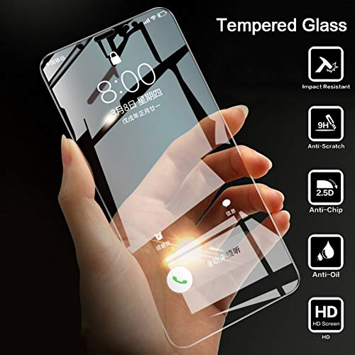 JVSJ 2PCS per Xiaomi Redmi Note 5 PRO Glass su Redmi 6 6A Il Vetro temperato Protettivo per Redmi Note 3 PRO Glass Protector,for RedmiNote 3 152mm