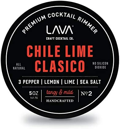 LAVA Premium Chile Lime Cl sico Cocktail Rimmer 5oz All Natural Bloody Mary Rimmer Michelada product image