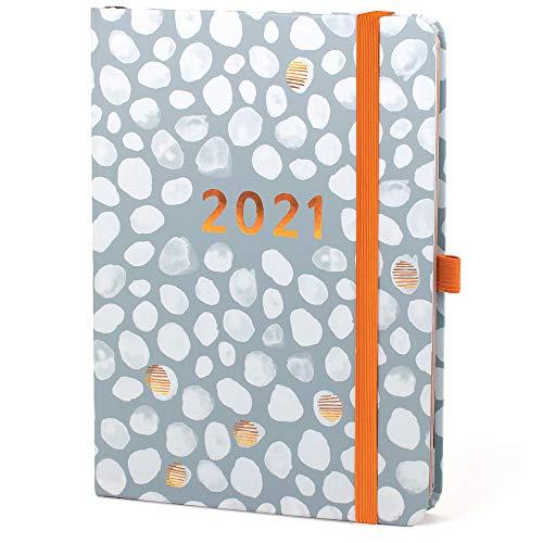 (en inglés) Agenda 2021 A5 Perfect Year de Boxclever Press. Planificador semanal diseño de columnas flexible hasta 7 personas. Agenda semanal 2020 2021 enero-dic'21 con listas para la compra y más