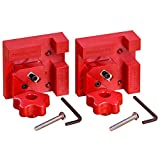 Woodpeckers Precision Woodworking Tools BC4-M2X2 M2 Plycarbonate Box and Cabinet Clamp Pair