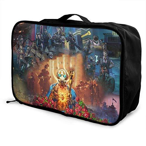Noman 'Sland Travel Lage Duffel Bag, bolsa de transporte grande, ligera, bolsa portátil