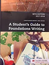 Best a students guide to foundations writing Reviews