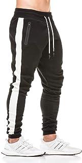 Gopune Men's Running Jogger Pants Causal Gym Workout Sweatpants with Zipper Pockets