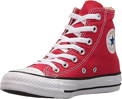 Converse - Zapatillas para niños, color Rojo, talla 33.5