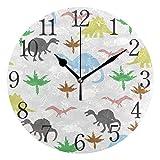 ISAOA Reloj de Pared Moderno de 9.4 Pulgadas, con diseño de