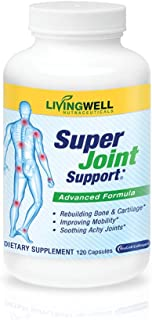 Super Joint Joint Supplement Glucosamine Chondroitin 120 Count Joint Support