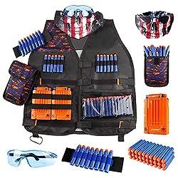 Image of Kids Tactical Vest Kit for...: Bestviewsreviews