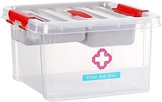 Gwgbxx Boîte de médecine domestique boîte de médecine pour enfants dortoir fournitures médicales ménage trousse de premier...