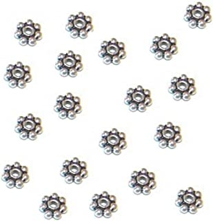 Best hollow silver beads Reviews