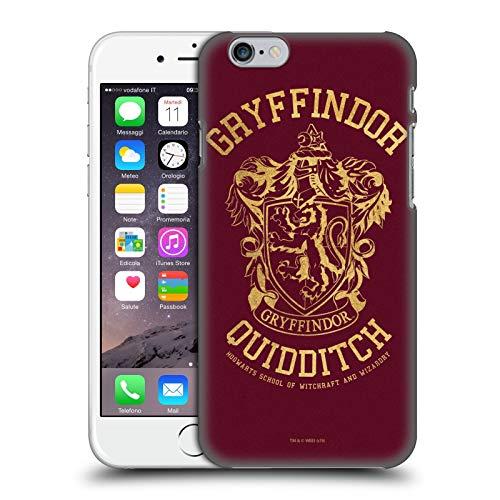 Head Case Designs sous Licence Officielle Harry Potter Gryffindor Quidditch Deathly Hallows X Coque Dure pour l'arrière Compatible avec Apple iPhone 6 / iPhone 6s