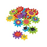 Fun Express Magnetic Spinning Gear Magnet Toys (22 Piece Set) Active Play Construction Toys