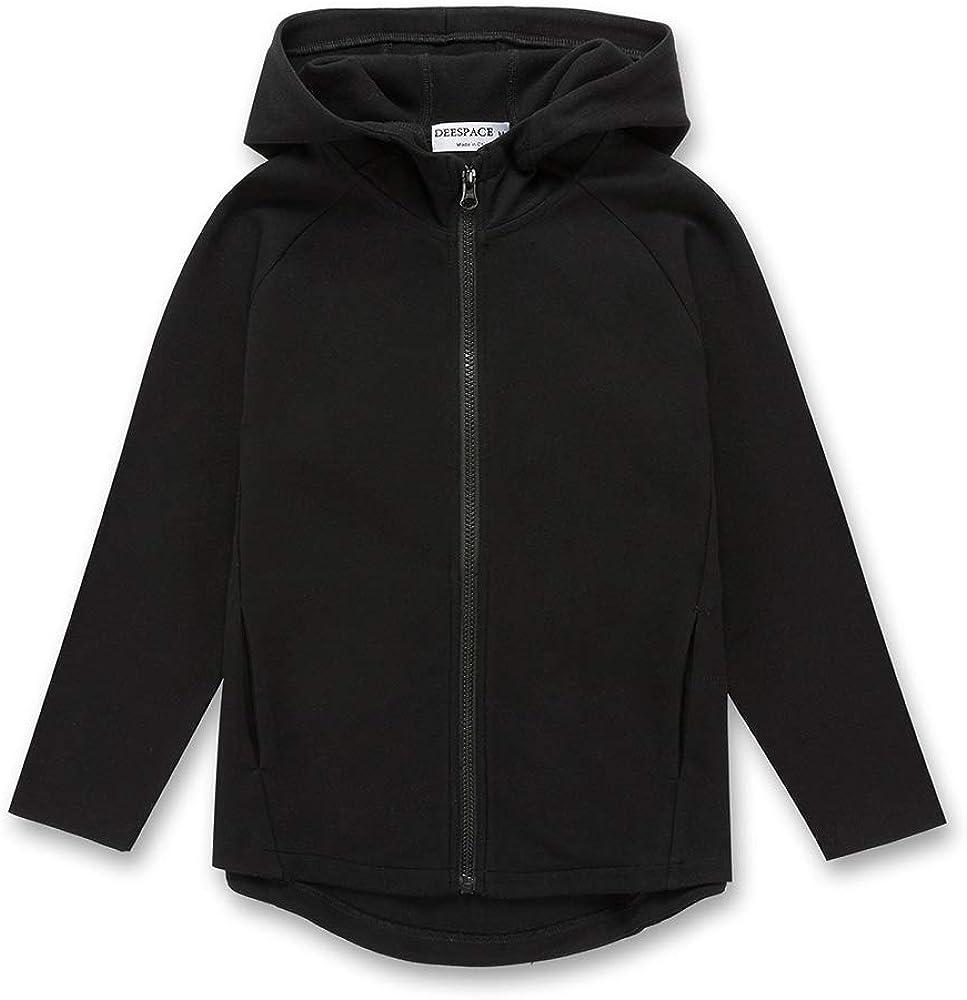 DEESPACE Kids Casual Hooded Sweatshirt overseas H Youth Full Zip Sale Athletic