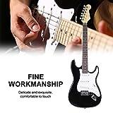 Chitarra elettrica, 99,1cm Full size solido legno elettrico 6corde per chitarra con si...