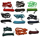 netproshop Auswahl Knotenhalfter Größe COB oder Strick 4,8m Nylon Einzeln oder Kombiniert,...