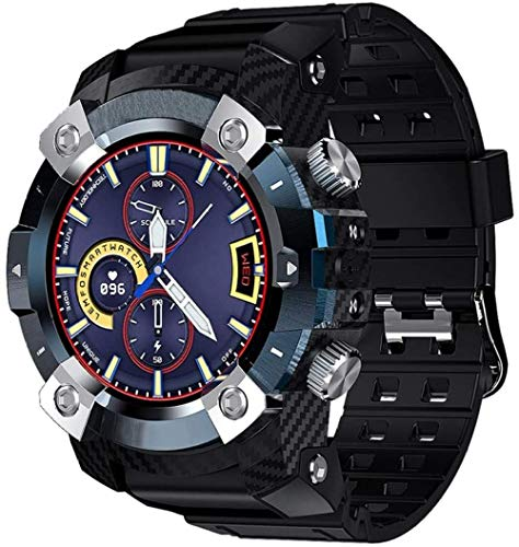 Reloj Inteligente Móvil Auriculares Bluetooth 2 en 1 360* 360 HD Pantalla Pulsera Inteligente Bluetooth 5.0 Impermeable Deportes Watch-B
