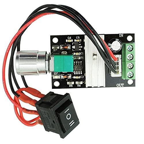 Controlador de velocidad de motor DC 6V 12V 24V 28V 3A 80W 1203BB PWM conductor del motor de interruptor inversor de velocidad ajustable, para profesionales y particulares