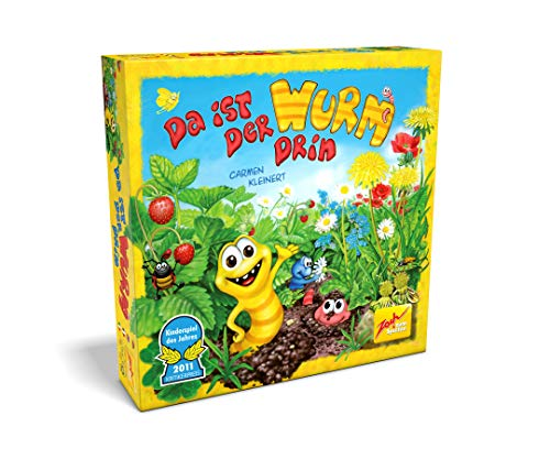 Zoch 601132100 Da ist der Wurm drin, Kinderspiel 2011, kinderleichtes und gewitztes Würfel-und Beobachtungsspiel, ab 4 Jahren